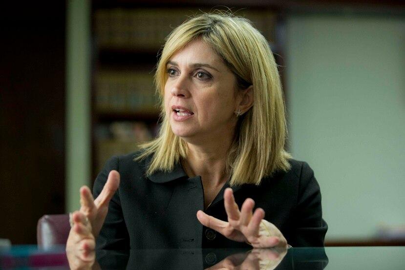 Olga Castellón, jefa de los fiscales. (GFR Media)