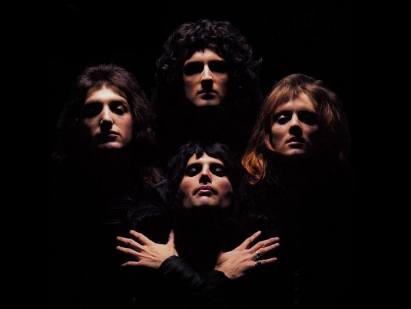 """La banda Queen en el vídeo de """"Bohemian Rhapsody"""". (GFR Media)"""