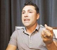 Desde el 2008, Oscar de la Hoya ha subido a un ring en calidad de promotor.