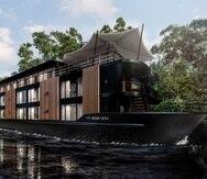 Aqua Nera, el nuevo barco de río de la compañía Aqua Expedition.