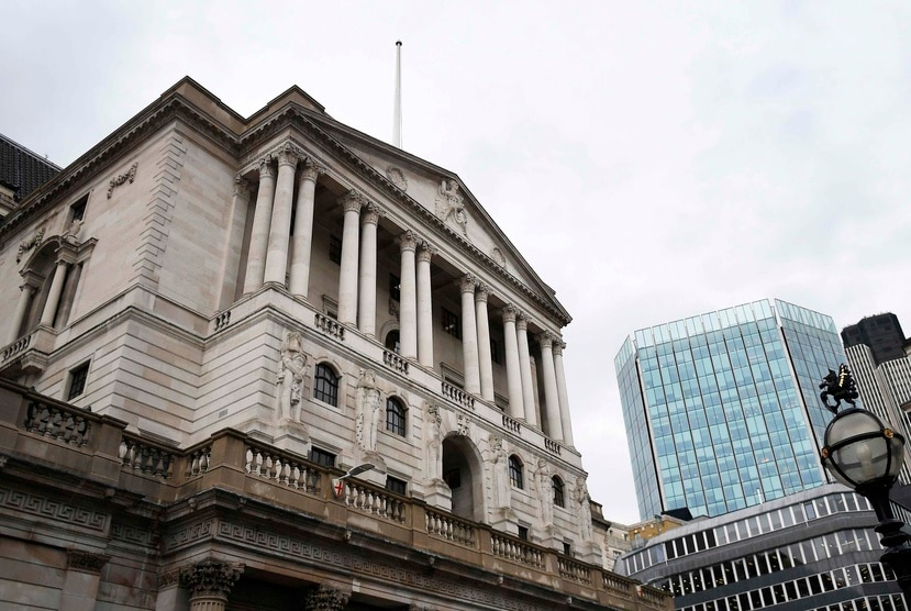 Banco de Inglaterra, en Londres. (Efe)