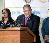 El secretario de Salud, Rafael Rodríguez, y el secretario de Asuntos Públicos, Osvaldo Soto, señalaron que pronto se dará a conocer cual sería el hospital que atendería todos los pacientes de COVID-19 en caso de un brote.