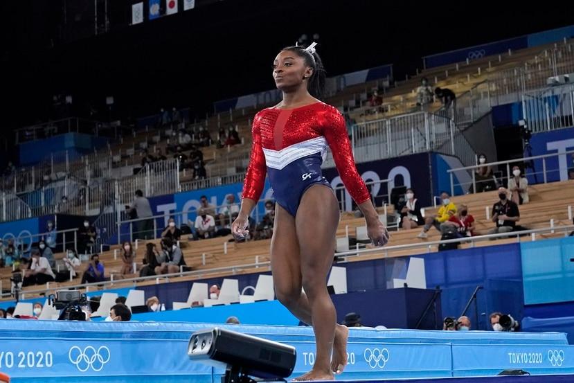 Simone Biles logró el bronce en viga en Río de Janeiro hace cinco años.