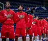 Selección Nacional de baloncesto en el Repechaje Olímpico 2021 en Serbia.