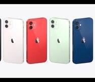 Los nuevos iPhone 12 de Apple tienen apoyo para las redes 5G.
