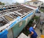 El Departamento de la Vivienda recibió 27,086 solicitudes a través de su programa Reparación, Reconstrucción y Reubicación (R3). En la foto, una casa destrozada por María en Barrio Obrero.