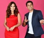 """Los presentadores Karina Banda y Rafael Araneda son quienes se encargan de presentar a """"los flechados""""."""