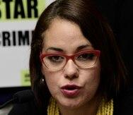 Annette Martínez Orabona, directora de la Clínica de Derechos Humanos de la Universidad Interamericana.
