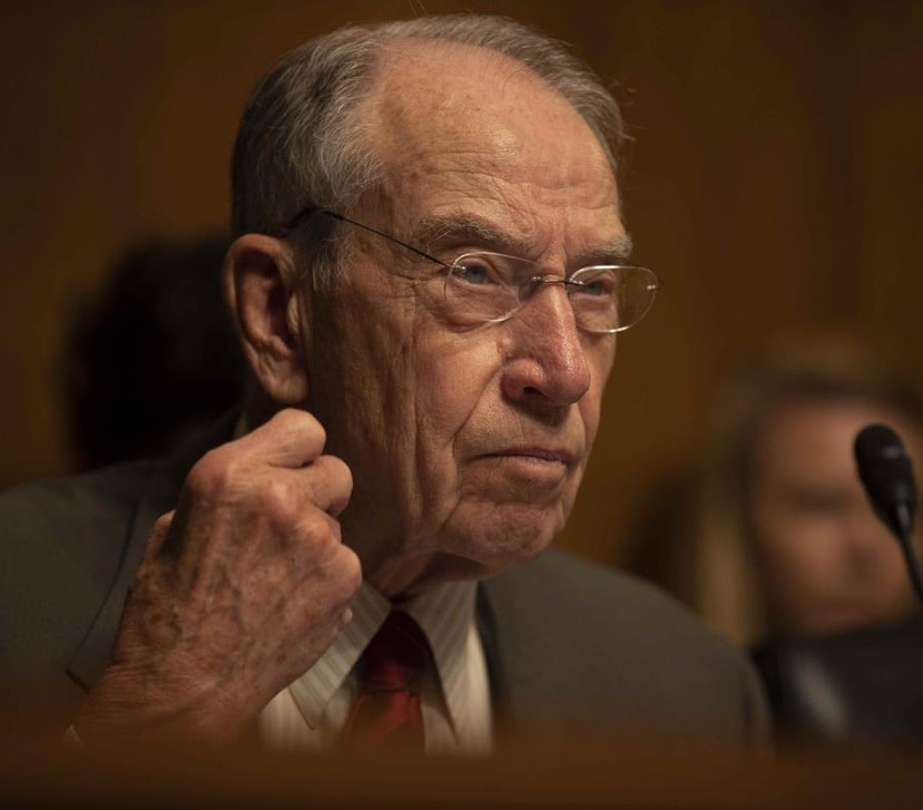 En la foto, el senador republicano Charles Grassley. (GFR Media)