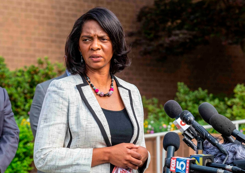 Joyette Holmes, la fiscal del condado Cobb. (AP)