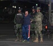 """Joaquín """"El Chapo"""" Guzmán se encuentra tras las rejas en Estados Unidos. (EFE)"""