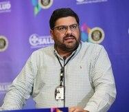 El secretario designado de Salud, Carlos Mellado.