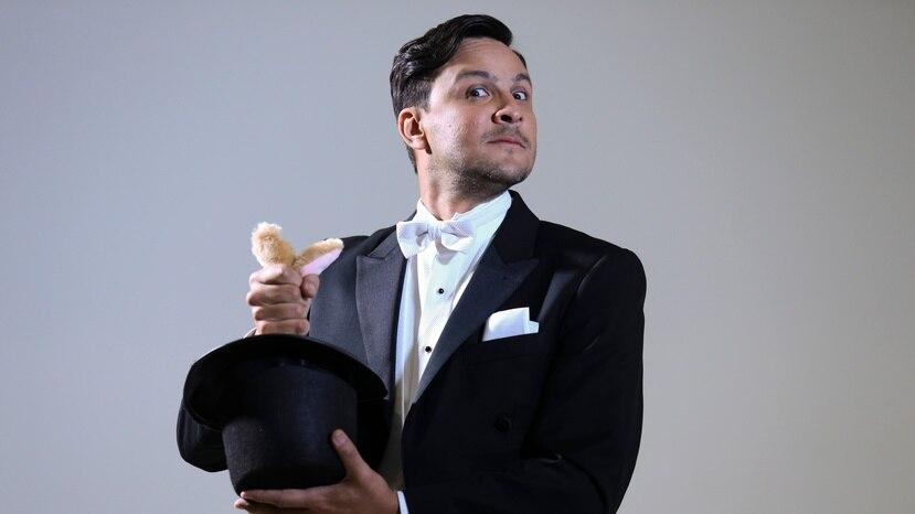 El actor y comediante Francis Rosas.