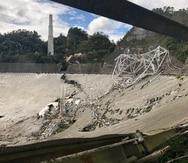 ¿Qué pudo haber causado el colapso del radiotelescopio del Observatorio de Arecibo?