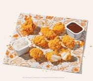 La cadena indicó que los nuggets pueden ajustarse a las preferencias de sabor de los comensales al parearlo con sus salsas propietarias como Bayou Buffalo, BoldBQ, Blackened Ranch, Buttermilk Ranch, Mardi Gras Mustard y Sweet Heat.