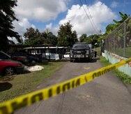 Residencia donde ocurrió la masacre de 2020 en la que asesinaron a una familia en Trujillo Alto.