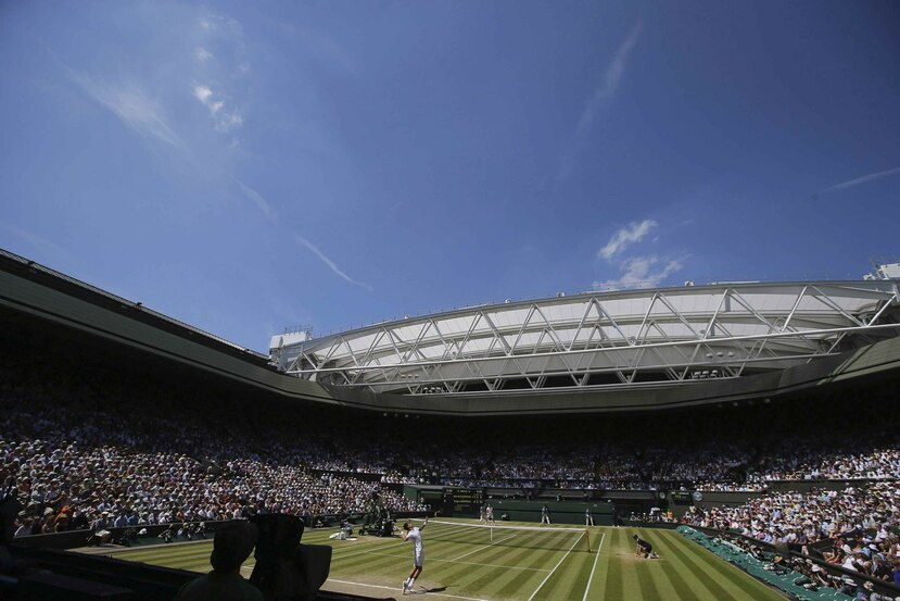 El torneo de Wimbledon se une otros grandes eventos deportivos cancelados por el coronavirus. (EFE)