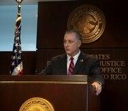 William Stephen Muldrow, jefe de la fiscalía federal en Puerto Rico.