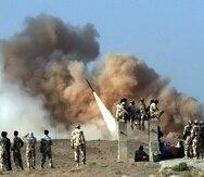 Fuerzas iraquíes confirman que no hay víctimas en sus filas tras el ataque iraní.  (EFE)