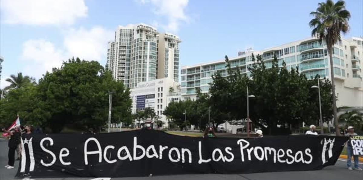 Se acabaron las Promesas cierra acceso a isleta de San Juan