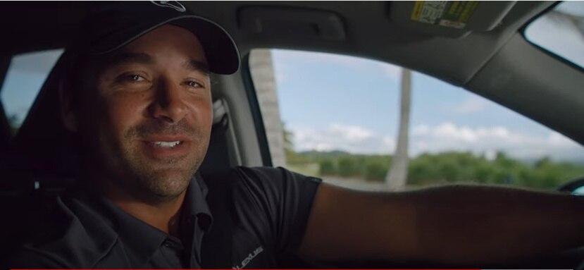 El golfista Rafa Campos forma parte de la nueva campaña digital de Lexus en Puerto Rico.