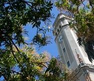 20 de febrero de 2017 Ð Coalici—n Universitaria por el Progreso (CUP) en una conferencia de prensa frente a la Torre del Recinto de R'o Piedras de la Universidad de Puerto Rico para expresarse en torno a la situaci—n que afronta el sistema universitario.en la foto torre de la universidad de puerto rico (upr)xavier.araujo@gfrmedia.com Xavier J. Araujo/ 2017