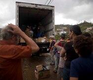 Lenta la ayuda en los municipios del centro