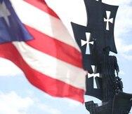 La estatua de Cristóbal Colón está localizada en Arecibo. (GFR Media)