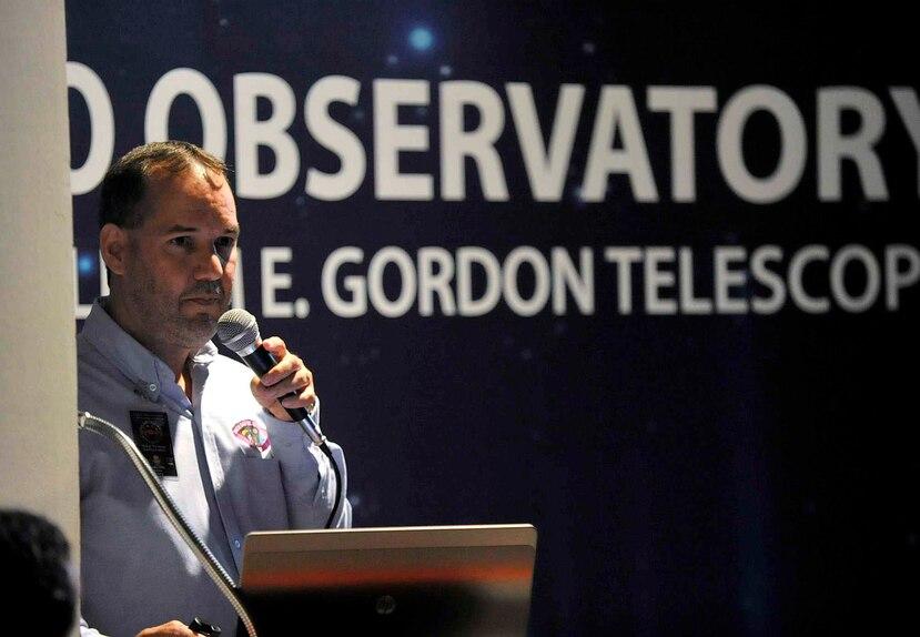 Eddie Irizarry nunca pensó que su ahínco para investigar las rocas espaciales sería remunerado con el galardón. (GFR Media)