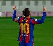 Lionel Messi jugó 17 temporadas con el Barcelona.