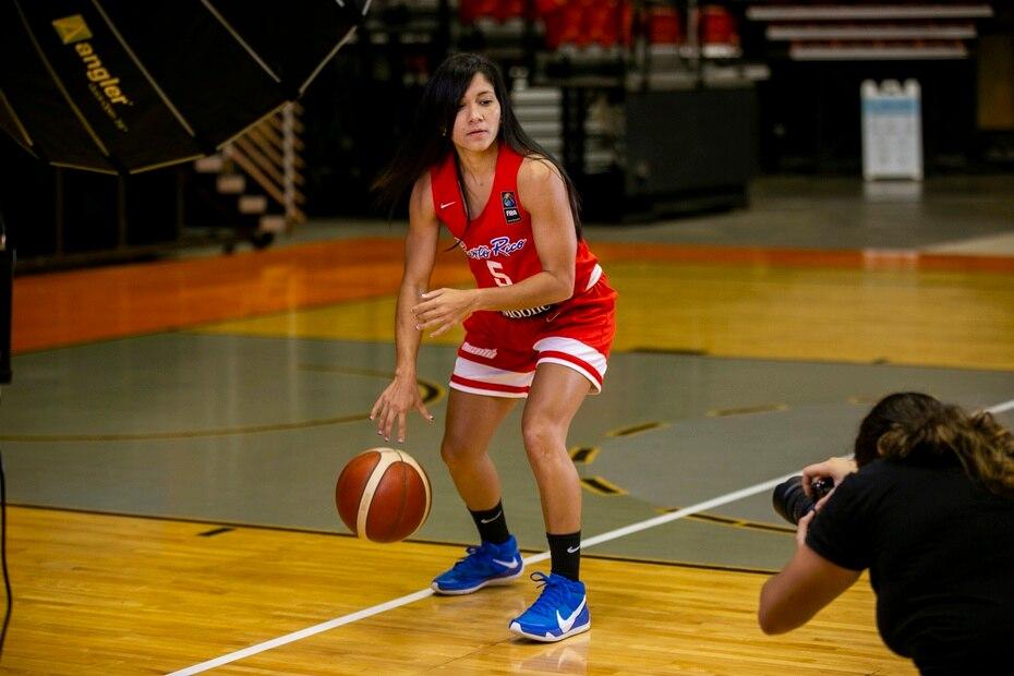 En la foto, la capitana del equipo Pamela Rosado.