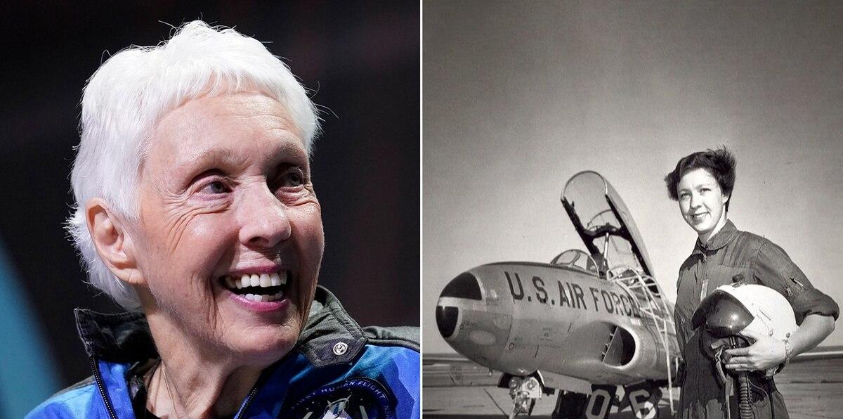 La increíble historia de Wally Funk, la persona más vieja en llegar al espacio