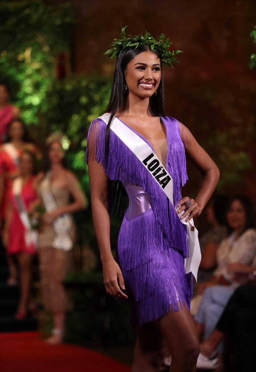 Michelle Marie Colón Ramírez representa a Loíza en el certamen Miss Universe Puerto Rico 2021.