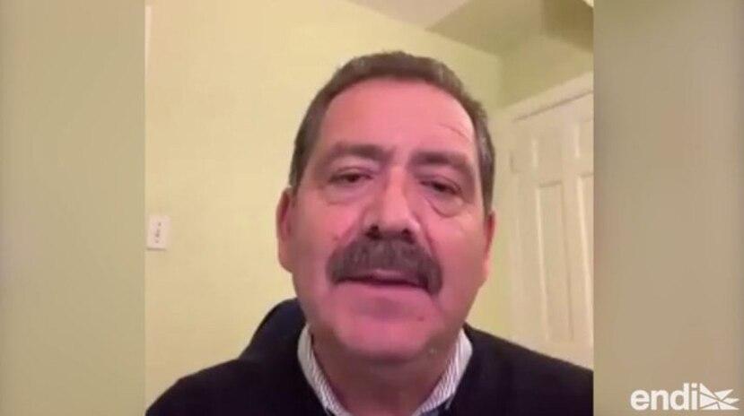 """El congresista demócrata Jesús """"Chuy"""" García. (Captura de pantalla)"""