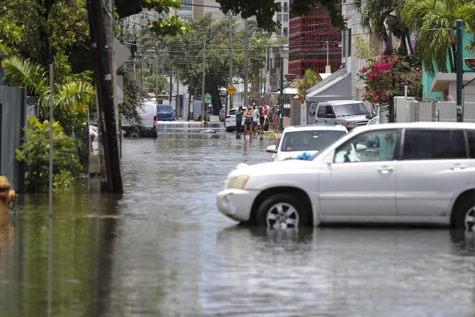 Aunque las autoridades aseguraron que el sistema de bombas funcionó, la inundación provocó una acumulación de agua significativa.