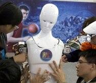 El robot Chaoneng Xiaobai tendrá un espacio en un noticiero de China (AP).