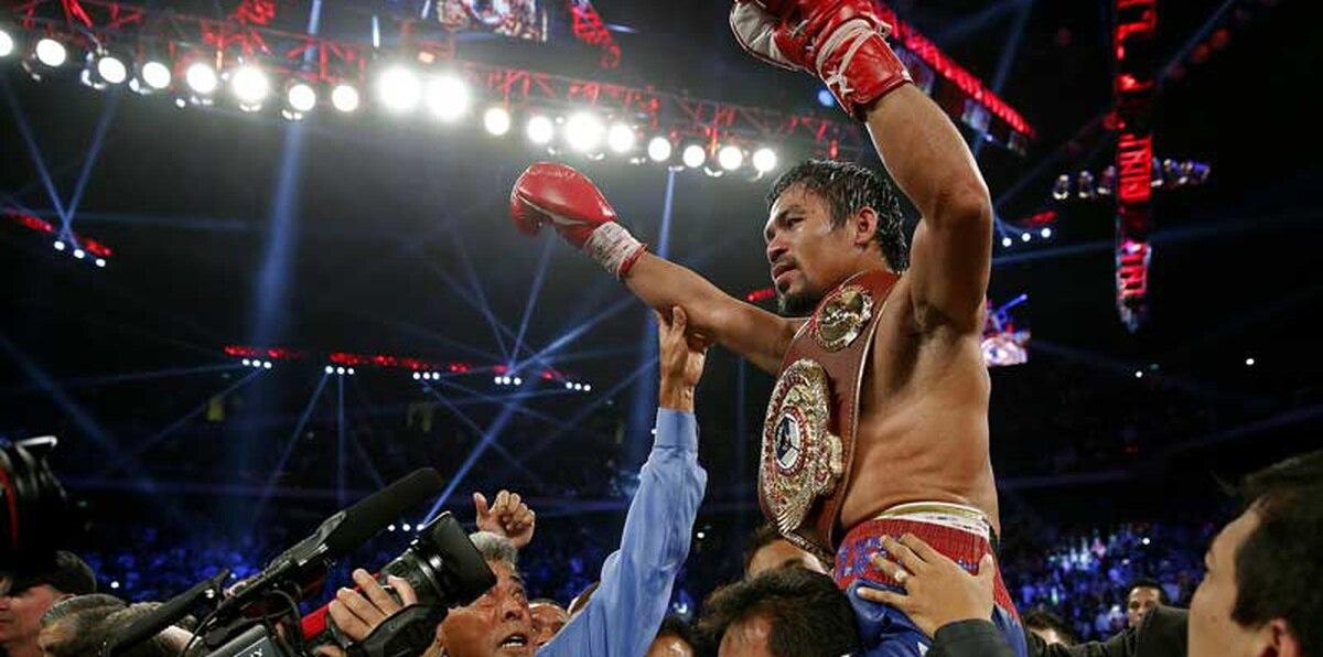 La legendaria carrera y pegada de Manny Pacquiao en fotos