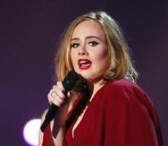 Adele. (AP)