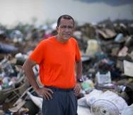 """El alcalde de Toa Baja, Bernado """"Betito"""" Márquez, no puede olvidar las escenas que vivió el día de las inundaciones en su pueblo."""