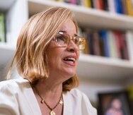 La alcaldesa de San Juan, Carmen Yulín Cruz Soto.