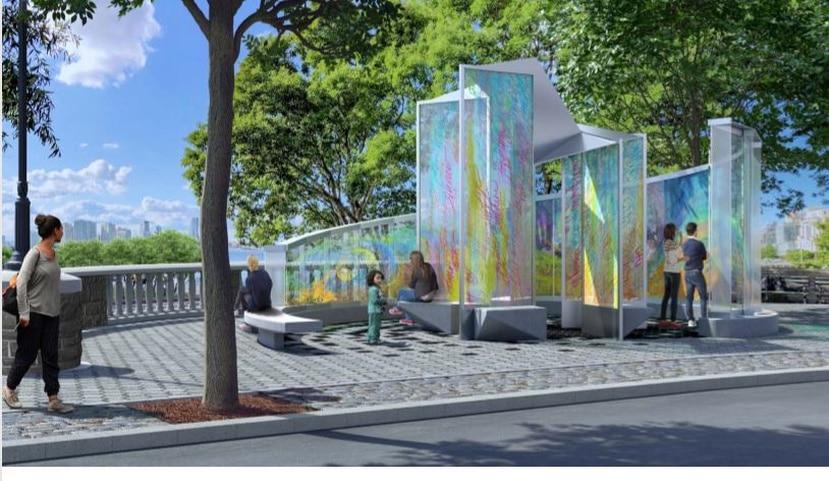 El monumento tendrá un costo de $700,000. (Captura de pantalla)
