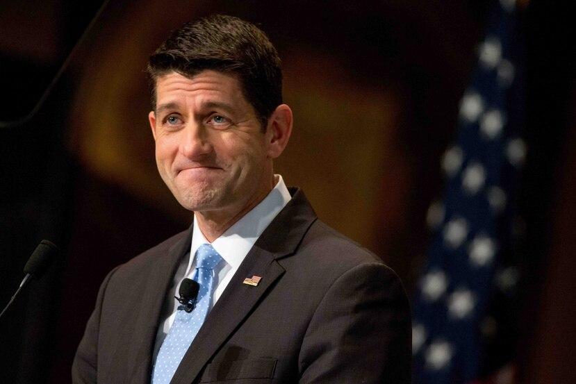 """Para Paul Ryan, tanto el liderato republicano, por medio de la jefatura del Comité de Recursos Naturales y su oficina, y el Tesoro """"trabajan de buena fe"""". (AP)"""