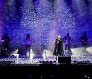 Ednita Nazario durante uno de sus conciertos virtuales en el 2020.