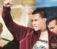 El atleta viene de derrotar por la vía del nocaut al mexicano Héctor Rubén Ambriz Suárez el pasado mes de julio. (Archivo / GFR Media)