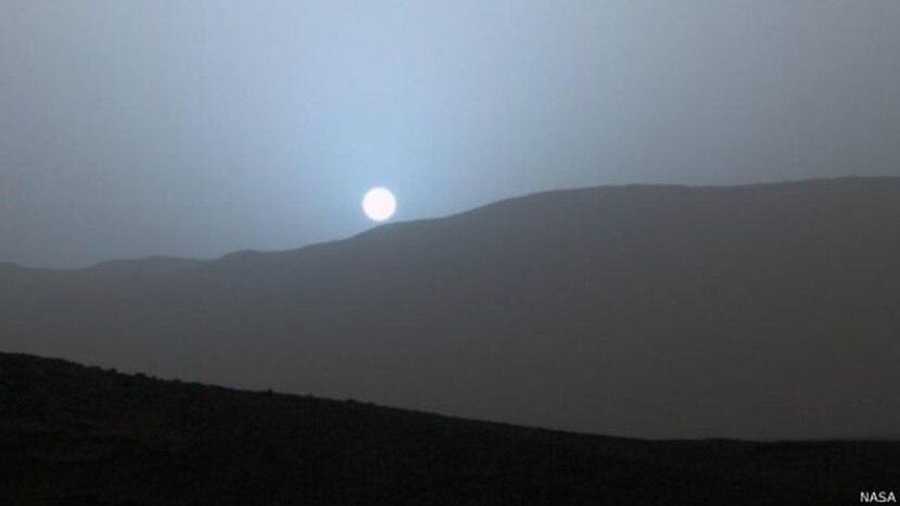 La cámara del Curiosity capta los colores de forma similar a como lo hace el ojo humano. En este caso, las imágenes se tomaron entre tormentas de polvo. (NASA)