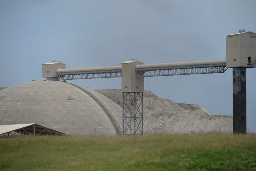 """La empresa se refirió a """"agremax"""", un producto utilizado en el proceso de solidificación de los desperdicios líquidos que envía AES a la planta de EC Waste para su tratamiento. (Archivo GFR Media)"""
