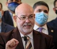 """Carlos """"Johnny"""" Méndez, portavoz alterno del PNP en la Cámara."""