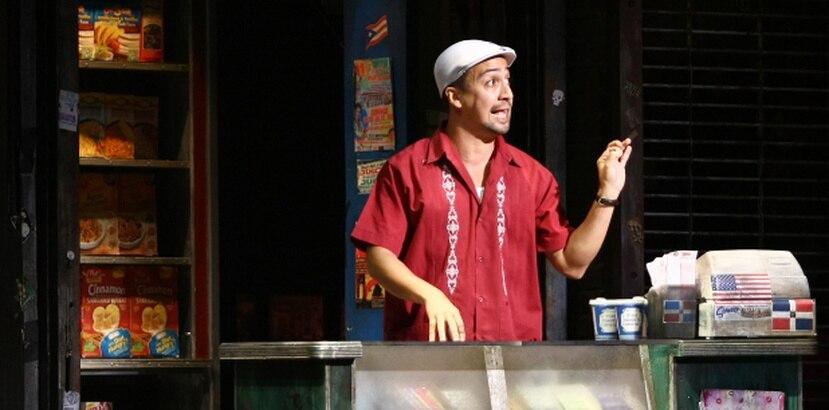 """Lin Manuel, aquí en su anterior musical In The Heights, ha logrado con Hamilton una gran respuesta del público que ha llenado las salas desde su debut """"off Broadway"""" a finales del pasado enero. (Archivo)"""