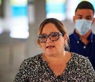 Melinda Romero, delegada por la Estadidad.