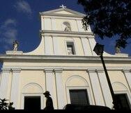 Fachada de la catedral del Viejo San Juan. (GFR Media)